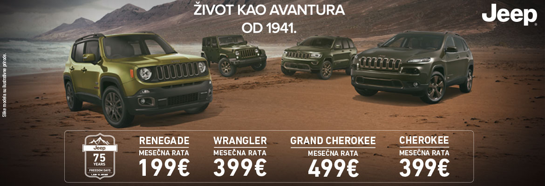 Jeep – Život kao avantura