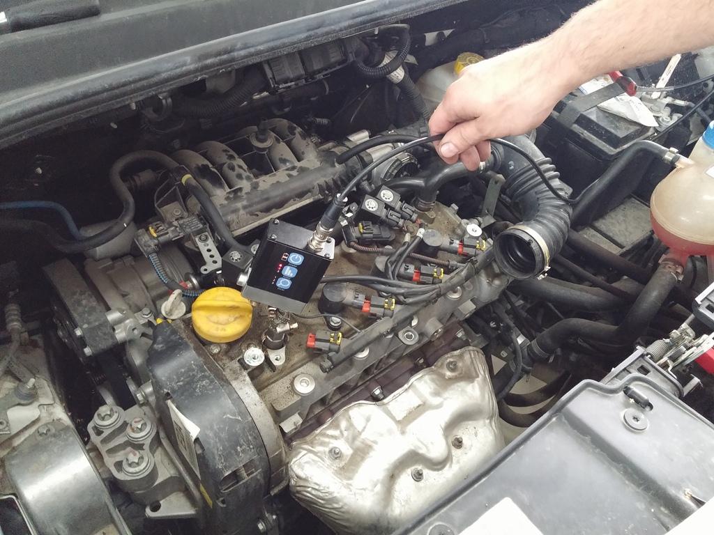 Merenje kompresije u benzin i dizel motorima Stojanov no1